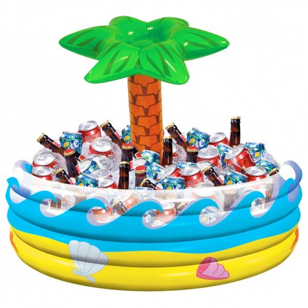 Tropical Palm Tree Inflatable Cooler | Buy Inflatable Drinks Coolers Beer Buckets - Buy at drinkstuff