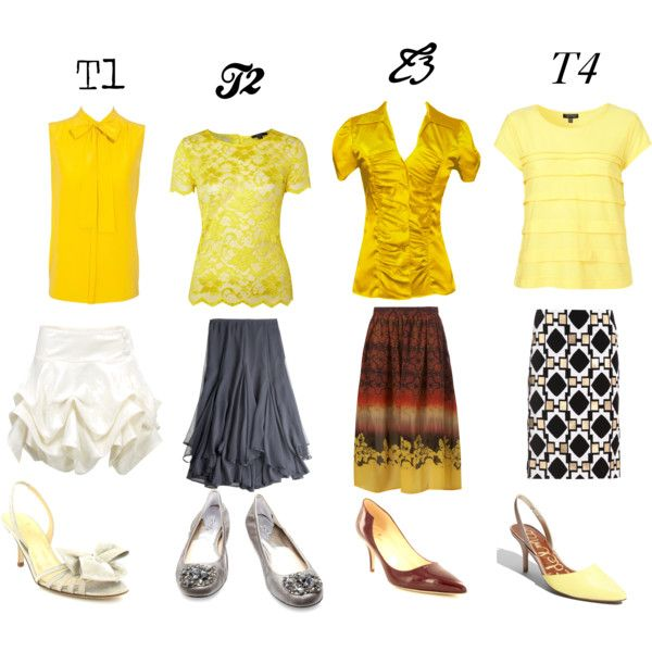 """yellows"" by expressingyourtruth on Polyvore"