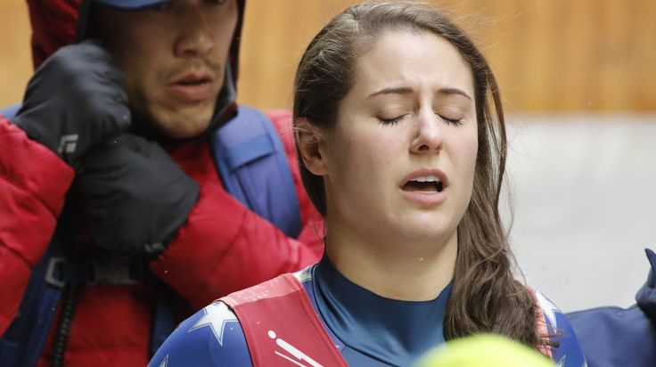 ICYMI: U.S. Luger Emily Sweeney Wipes Out In Dramatic Olympics Crash