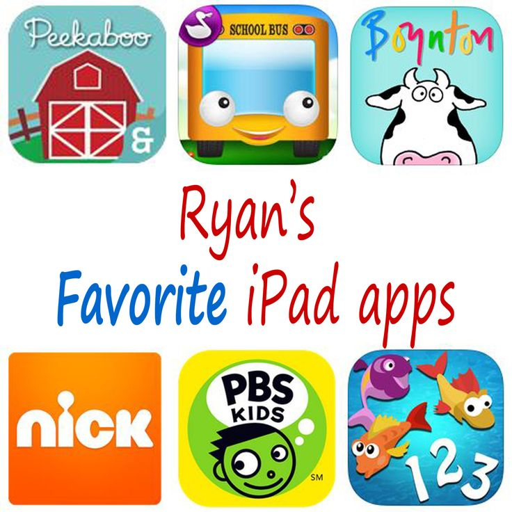 Great apps for the young toddler