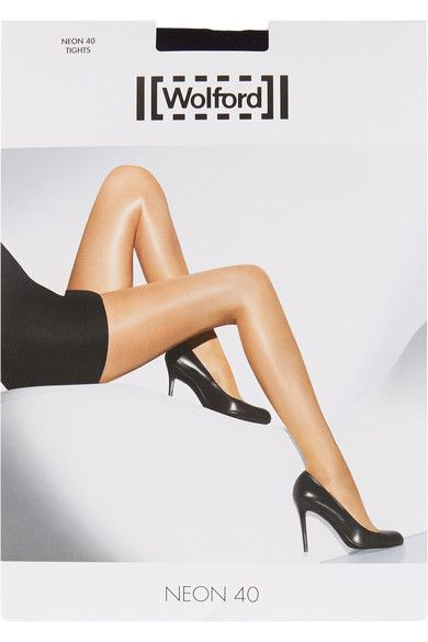 Wolford - Neon 40 Denier Tights - Black -