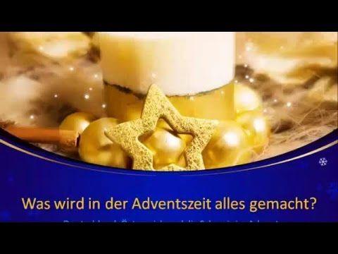 Adventszeit in Deutschland