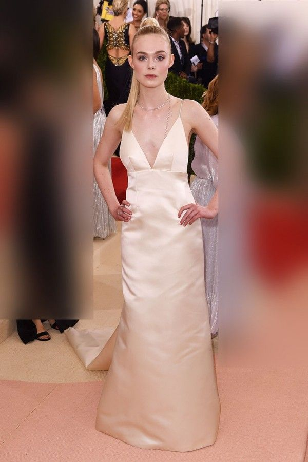 26ccc523e4 Elle Fanning Slip Dress At Met Gala 2016 Red Carpet  evening   eveningdresses  dresses  dresslily  dressshoes  dressing  prom   promdresses  promdresses2019 ...