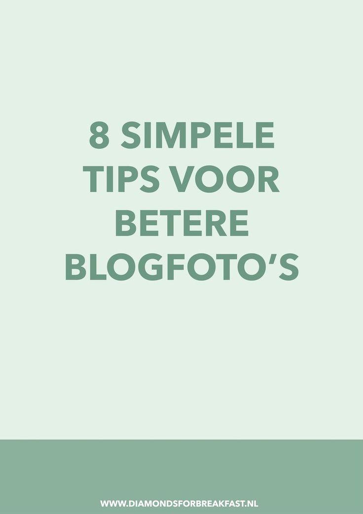 Schrijf je prachtige teksten, maar vind je het lastig om goede foto's te maken? Of heb je een goede camera maar schiet je altijd in de automatische stand? In dit artikel geef ik 8 tips and tricks om je blogfoto's te verbeteren.
