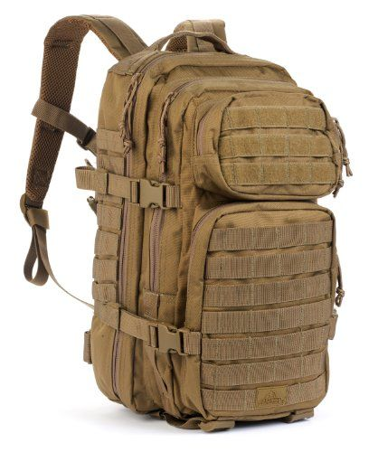 The Assault Pack from Red Rock Outdoor Gear is a 20 Liter tactical backpack. The padded sleeve back panel is hydration compatible but also serves as a secure compartment for an iPad or tablet.  The c...