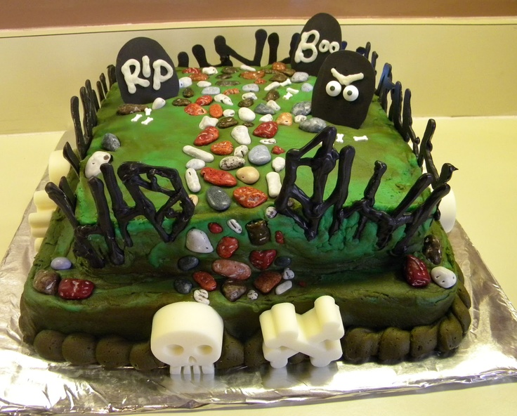 Halloween Cake Decorating Ideas Pinterest : Best 25+ Graveyard Cake ideas on Pinterest Halloween ...