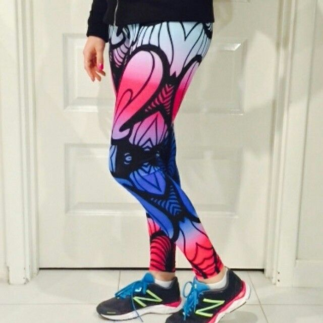 Energo Apparel Optical Illusion leggings  #energoapparel #fitnessapparel #fitnessleggings #brightleggings #fitness #health