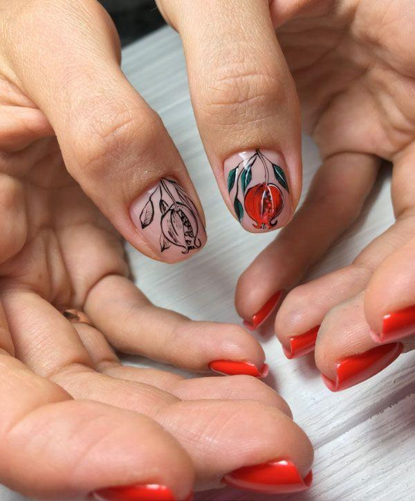 Manicure Ideas Fall 2020 60+ Stylish Fall Nail Art Design Ideas & Trends 2019 2020 | Nails