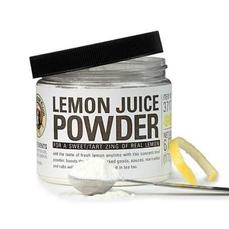 Lemon Juice Fruit Powder for icings and baked goods