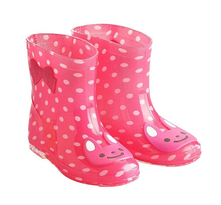 Cute Starry Kids' Rain Boots Pink Rabbit Children Rainy Days Shoes 15CM. Rubber anti-slip rain boot. Color: pink. Size: 15cm. Please choose the best fitness size for your baby according to its feet's length. We offer the Highest Quality and Lowest prices Guranteed!!.