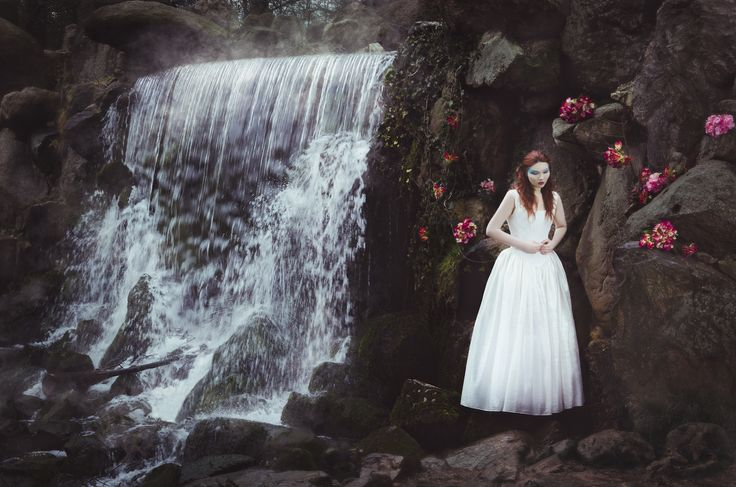 """a fairytale in one Picture""  Photographer: Renate Polderman MUA: Inge Baas Model: california Acid Styling, background and Gown: Noor Heynen of BLACKWOOD Styling, Events and Management"