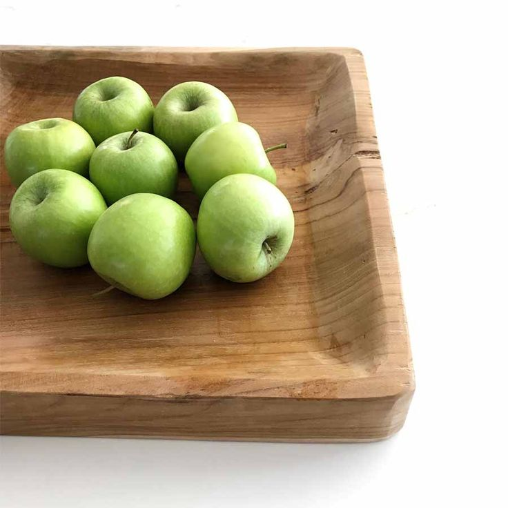 Square-Plate-Homewares-Timber-Satara-Australia