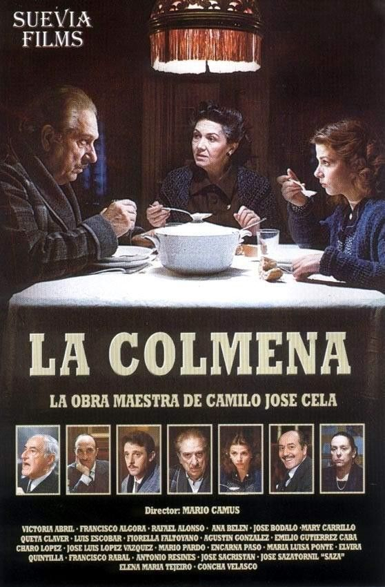 """1982. La colmena de Mario Camus basada en la novela de Camilo José Cela.  Festival de Berlín: Oso de Oro (ex aequo """"Ascendancy"""")"""