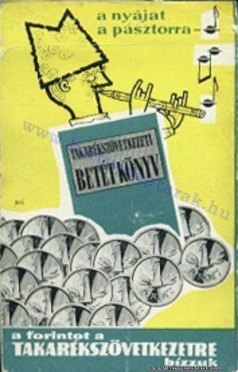 1963 - 1963_0111 - Régi magyar kártyanaptárak