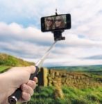 PSL World: Self-portraits photo taking (selfies) is all the rage on social media. To make this activity easier and more spectacular you can use a Selfie Stick. The Selfie Remote (MB5059) for handsfree selfie taking is optional. #OD5086  www.pslworld.com
