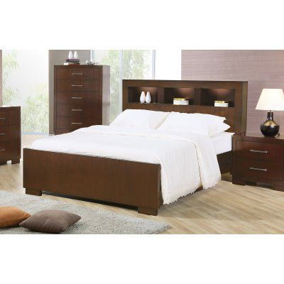 Coaster Furniture Jessica Bookcase Bed, Size: California King - 200719KW