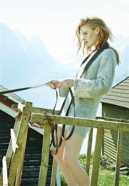 """Vol 3: Modell 7 """"Sølva"""" #LeilaHafzi #SandnesGarn"""