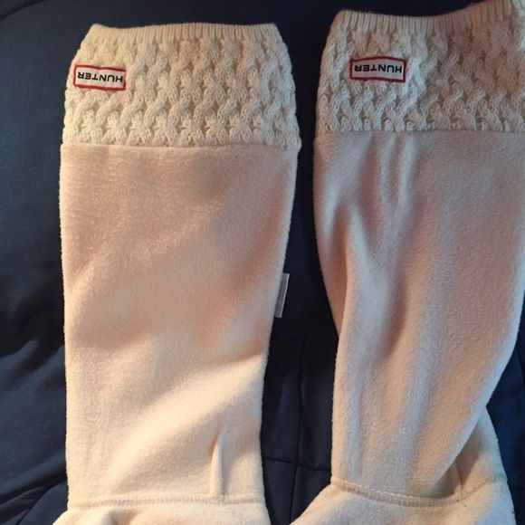 Women Hunter Boot Socks I bought a size too small because I didn't realize they were sized :( size 5-7 Hunter Boots Shoes Winter & Rain Boots