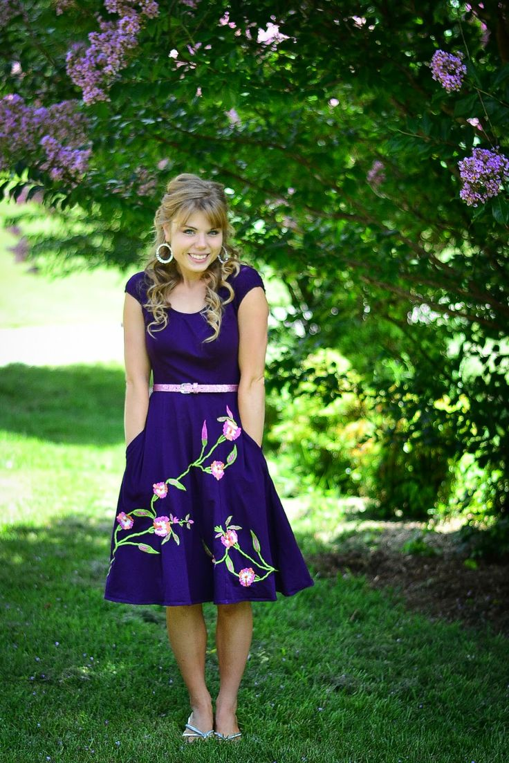 Summer of Dresses | Bridesmaid's Luncheon  Adorable outfits, hair, and make-up!