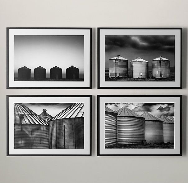 Cole Thompson: Grain Silo Series Silo 2-#onekingslane #designisneverdone