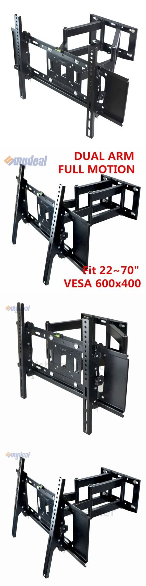 TV Mounts and Brackets: Full Motion Plasma Lcd Led Tv Wall Mount Bracket 32 42 50 55 60 70 80 Dual Arm -> BUY IT NOW ONLY: $30.22 on eBay!