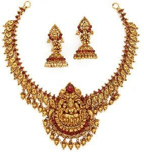 Temple Jewellery Necklace Sets