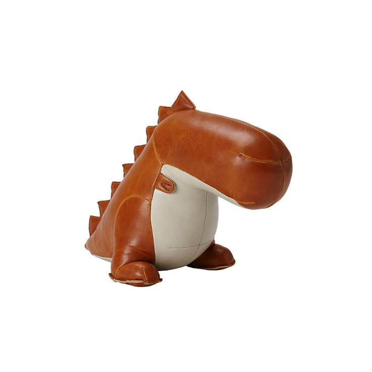 Dino Bookend - OMG so cute.Leather Dino, Menagerie Bookends, Dinosaurs Bookends, For Kids, Kids Room, Adorable Bookends, Kid Rooms, Dino Bookends, Baby Nurseries
