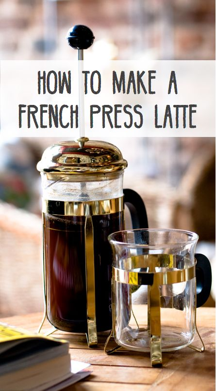 How to make the perfect cup of coffee or latte with your French Press.