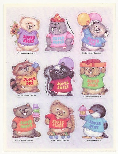 Critter Sitter / Shirt Tales by Hallmark.  I super loved these!