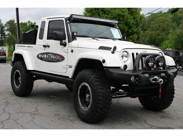 Jeep Wrangler 4wd 4dr Unli 57vvt Hemi Rubitrux Jk 8 Conversi For