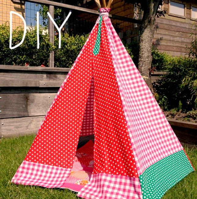 diy infantil cabanas teepee pinterest. Black Bedroom Furniture Sets. Home Design Ideas