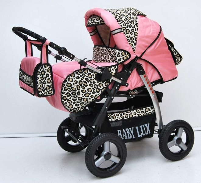 Zebra Print Stroller And Car Seat For Babies