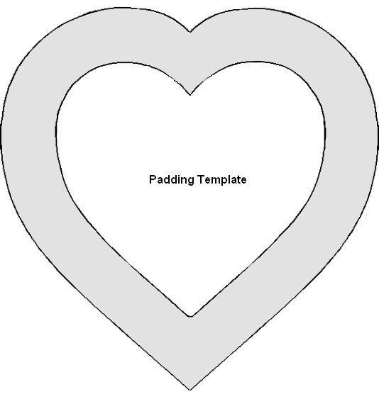 The 25+ Best Heart Template Ideas On Pinterest   DIY ...