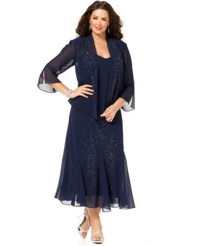 Plus Size Mother Of The Bride Dresses Tea Length Ideas