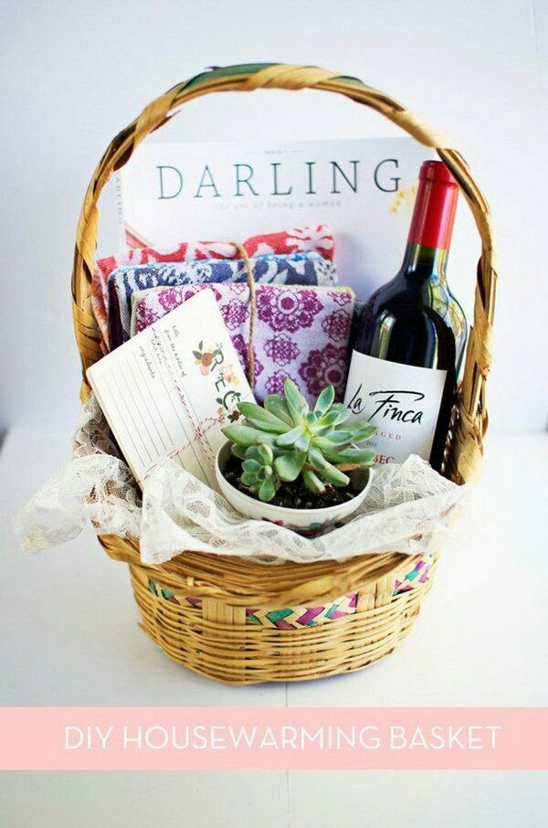 91 best christmas hampers images on pinterest wrapping gifts baby diy your christmas gifts this year with glamulet they are compatible with pandora bracelets how to make the perfect diy housewarming basket solutioingenieria Choice Image