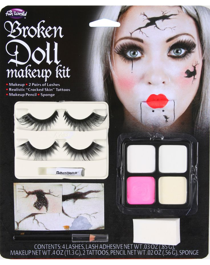 Broken Doll Makeup Kit – Spirit Halloween