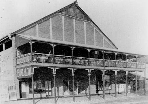 Bungalow Theatre, Kent Street, Maryborough, ca. 1914.