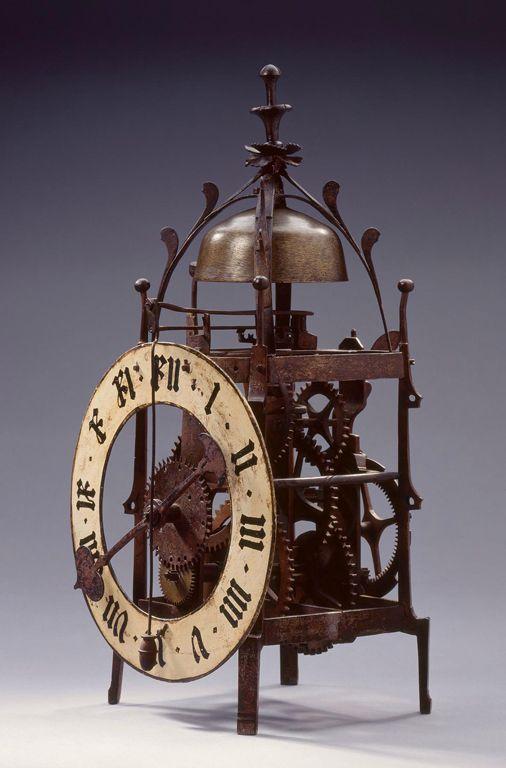 Gears  Andreas Liechti (Winterthur, Switzerland, 1582–1650). Swiss Striking Wall Clock, 1603 with later dialplate.