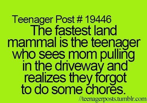 teenager posts. ♕