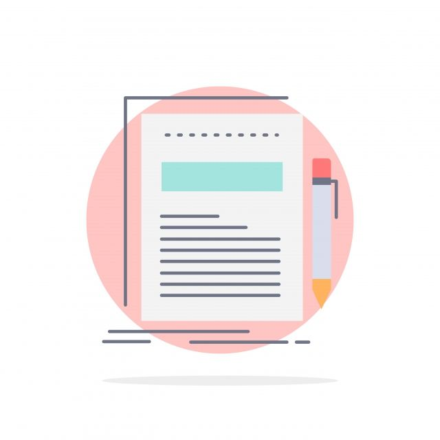 Business Document File Paper Presentation Flat Color Icon Ve Color Icons Architecture Background Png And Vector With Transparent Background For Free Download Paper Presentation Filing Papers Presentation