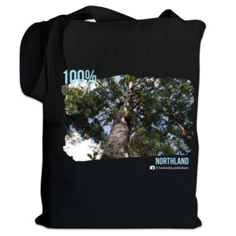 NZ Canvas Bag - Cambridge Blue - 100% Northland Kauri Photo