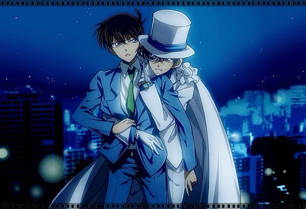 The thief is gonna steal the heart of the detectiv (Detectiv Conan Kaito x Shinichi)