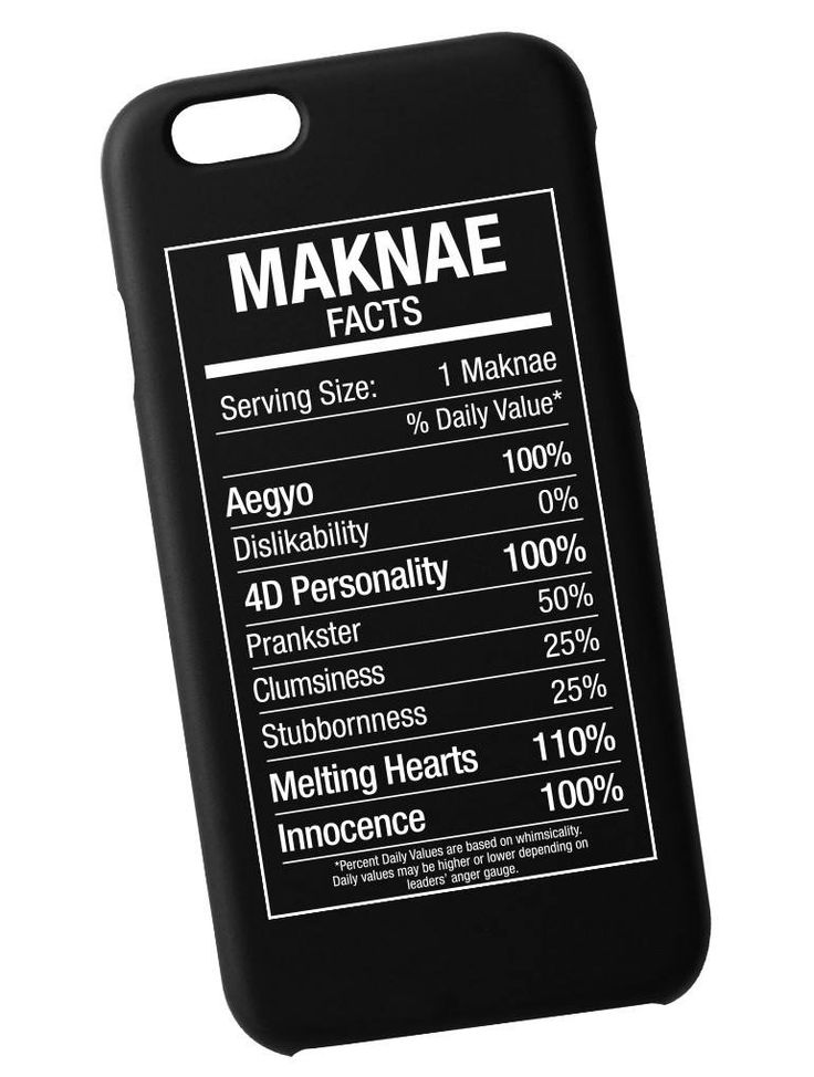 Maknae Fact Case