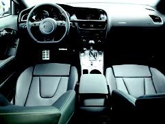 #RS5 interior.