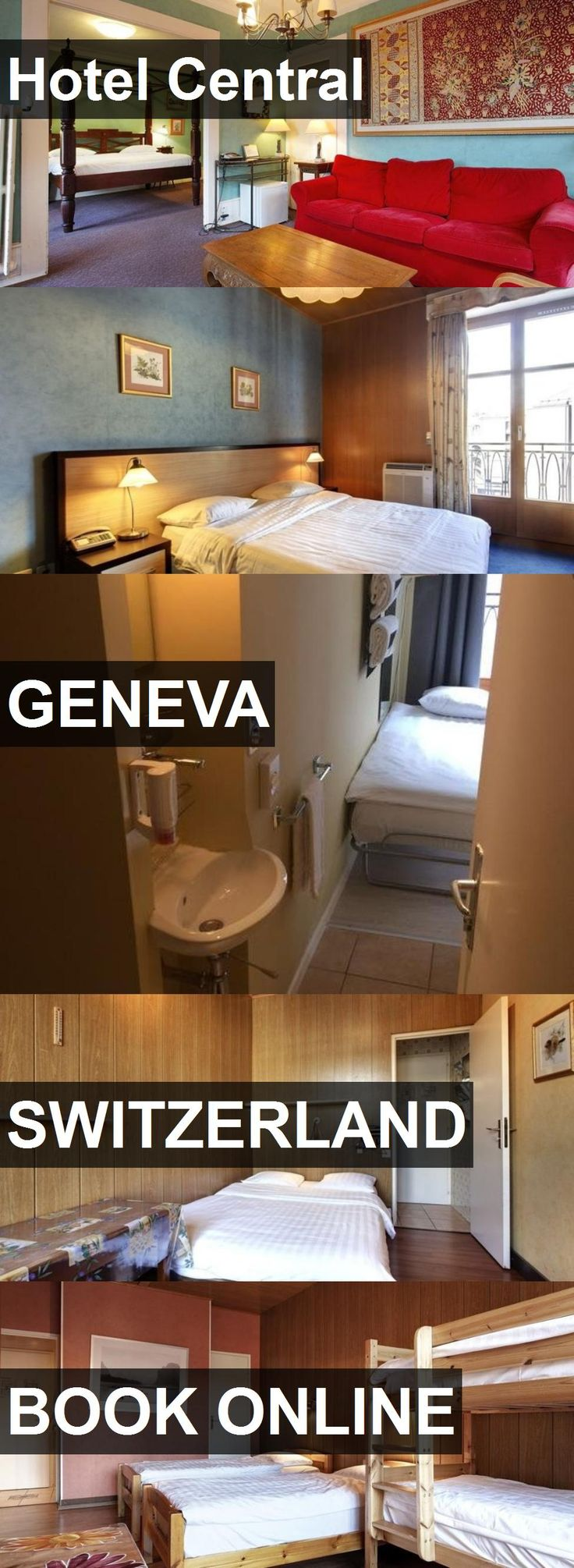 Hotel Central in Geneva, Switzerland. For more information, photos, reviews and best prices please follow the link. #Switzerland #Geneva #travel #vacation #hotel
