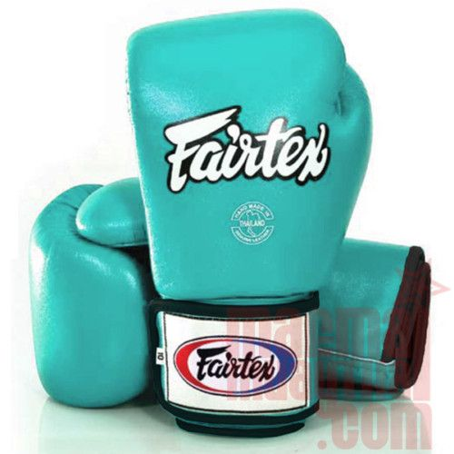 Tiffany Blue Fairtex boxing gloves... Muay Thai shorts, gear and accessories ^_^ Training equipment I found here are all from online, or other pinners!