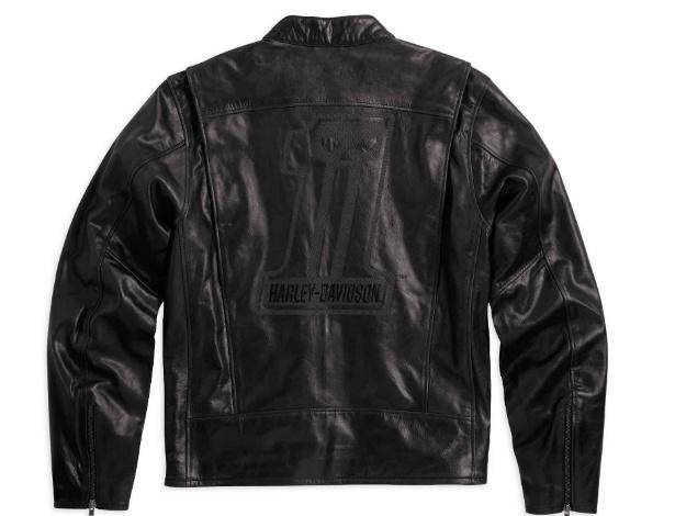 Jaqueta de couro Harley-Davidson, vendida a R$ 1.389,40