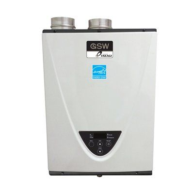 GSW N2073 Powered by TAKAGI Tankless Gas Water Heater (Natural Gas)