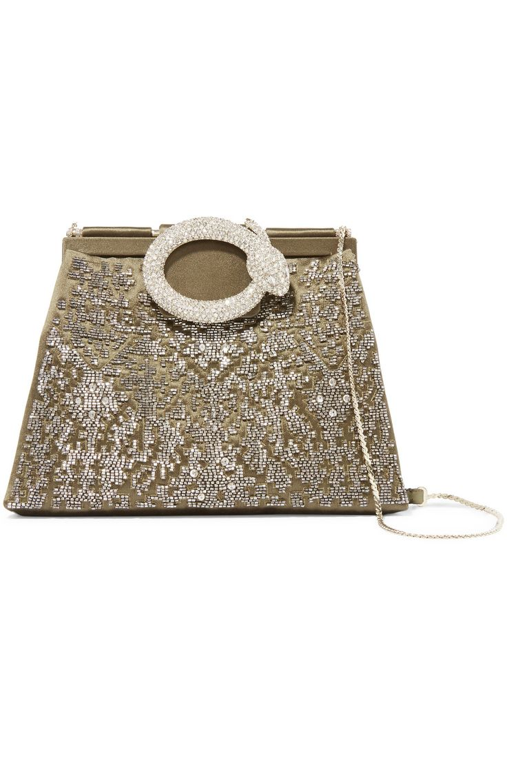 Shop on-sale Valentino Embellished satin clutch. Browse other discount designer Clutch Bags & more on The Most Fashionable Fashion Outlet, THE OUTNET.COM