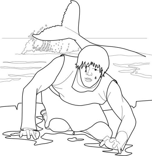 23 best images about coloring pages christian on for Jonah bible coloring pages